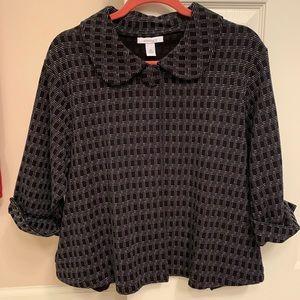 EUC Dress Barn 3/4 sleeve jacket